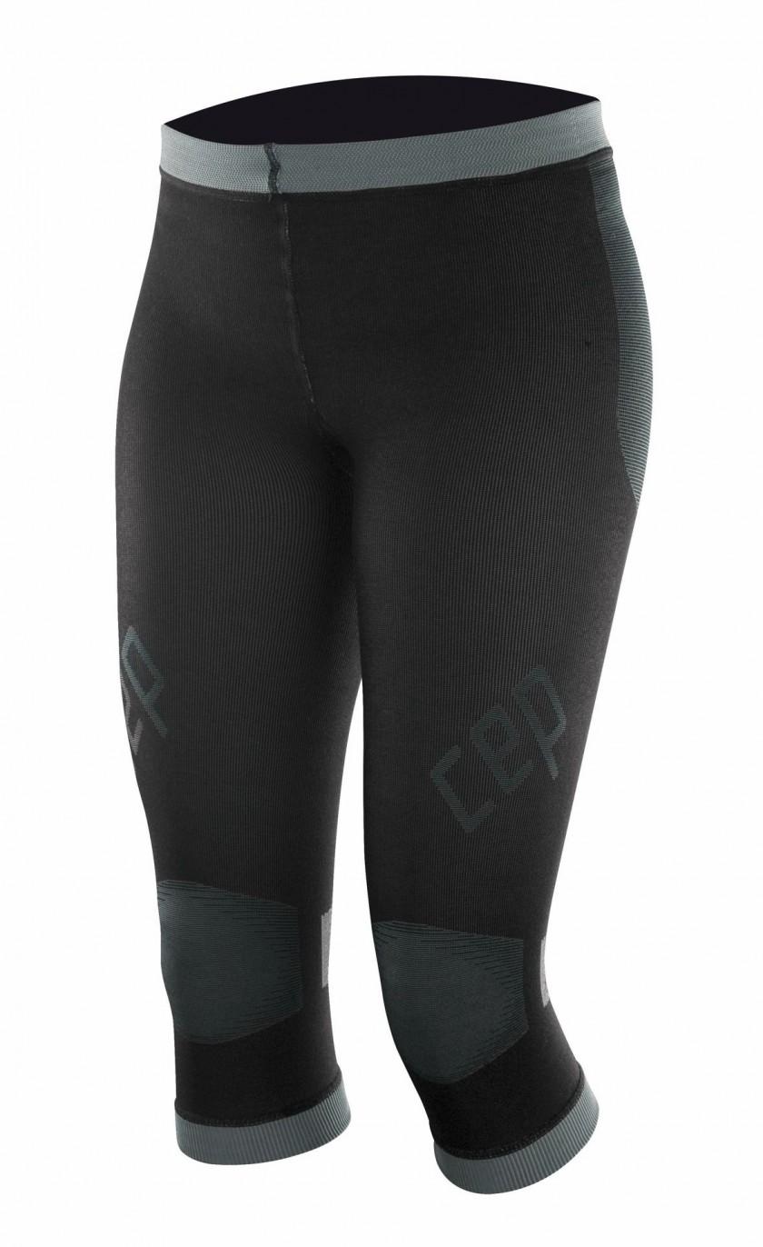 CEP compression inner pants women schwarz/grau