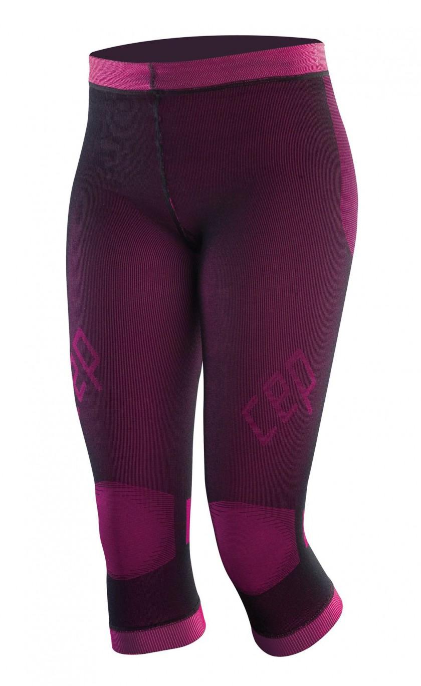 CEP compression inner pants women schwarz/pink