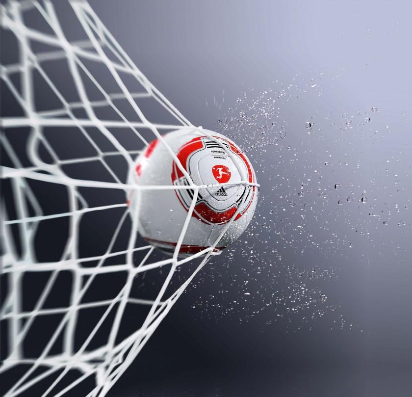 Bild torfabrik von adidas der erste einheitliche for Bundesliga 2010