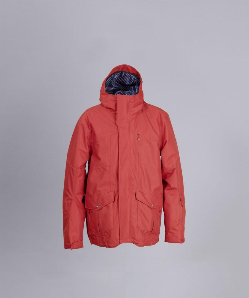 Mens Snow Jacket Sargas Zimtstern - Winner ispo ECO Responsibility Award 2011