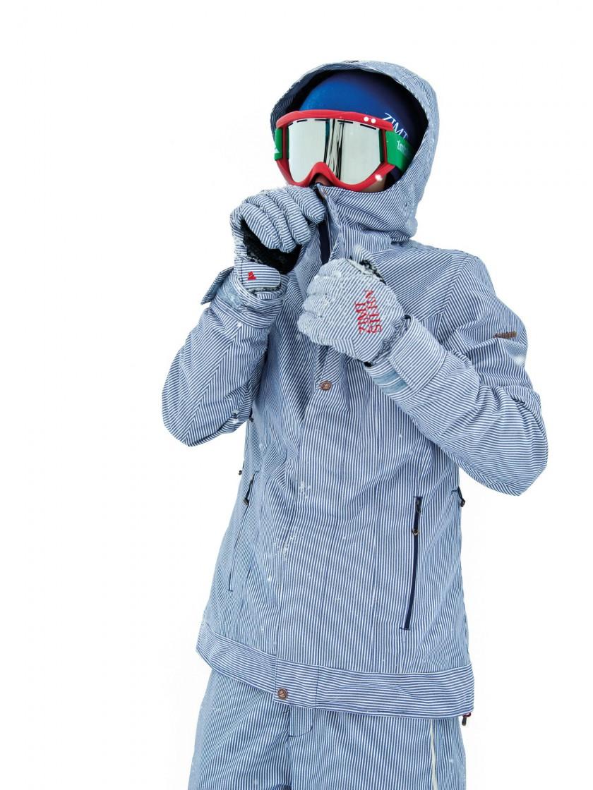 Womens Snow Jacket Rena Zimtstern - Winner ispo ECO Responsibility Award 2011
