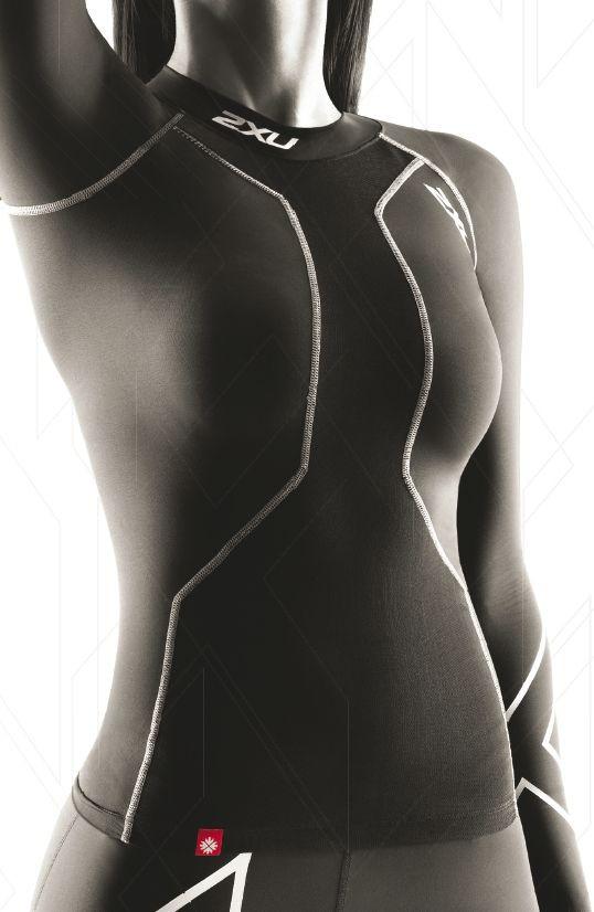 2XU Recovery Top Women - fr Sportarten, die die Oberkrpermuskulatur belasten
