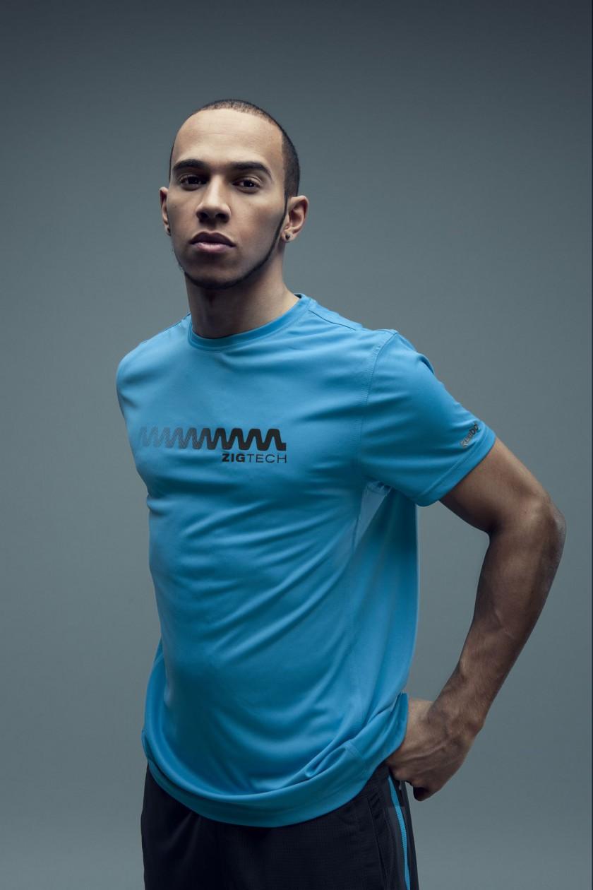 Lewis Hamilton gibt seinem Training mit Reebok ZigTech mehr Energie T-Shirt
