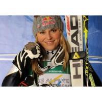 Lindsay Vonn gewann auf HEAD Skier Silber bei der WM 2011