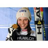 Anna Fenninger gewann auf HEAD Skier Gold bei der Alpinen Ski WM 2011