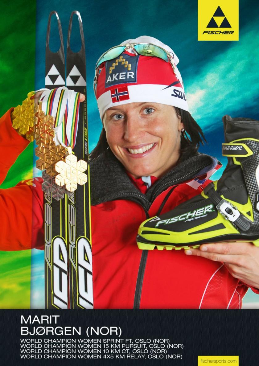 Fischer Athletin Marit Bjrgen war die erfolgreichste Medaillensammlern der Langlauf WM 2011