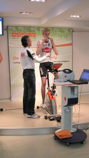 Vorbereitung auf den individuellen aeroscan Fitness-Check