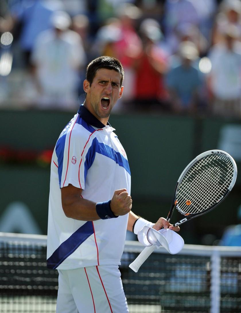 Novak Djokovic gewann das Masters Series Turnier in Miami 2011