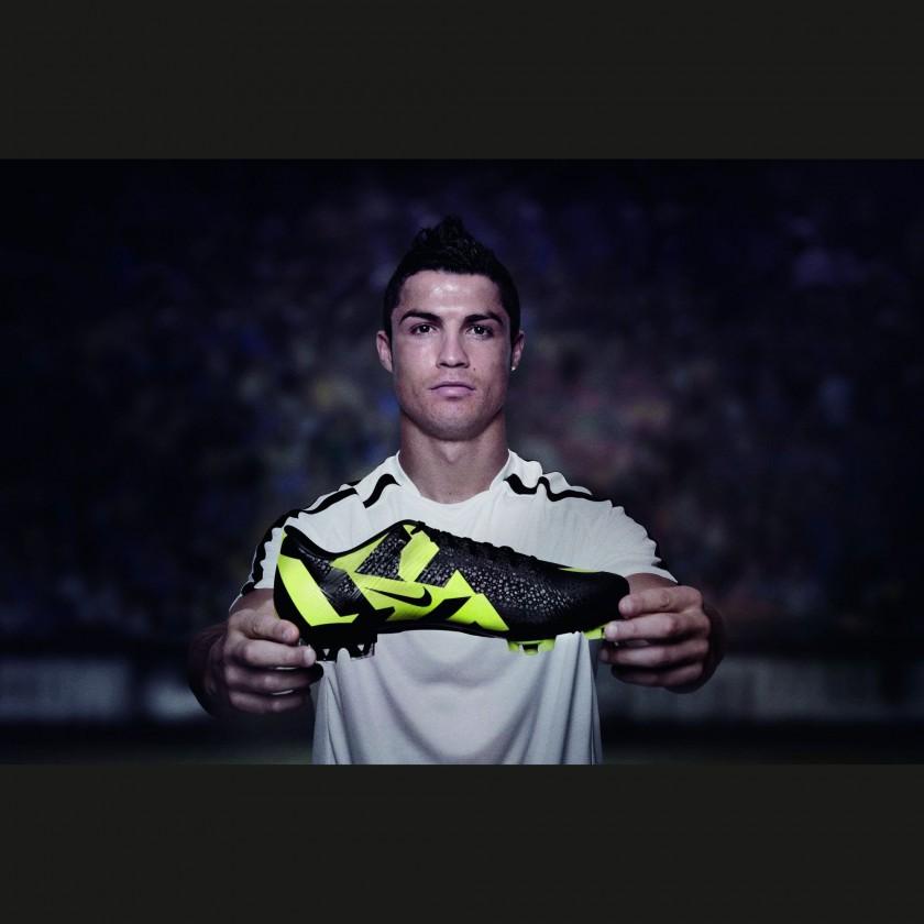 Cristiano Ronaldo mit seinem CR Mercurial Vapor Superfly III