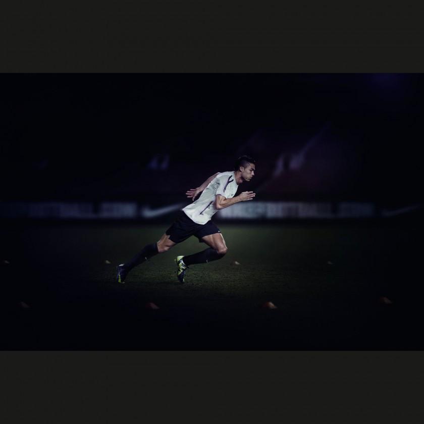 Cristiano Ronaldo im neuen CR Mercurial Vapor SuperFly III