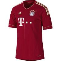 Das neue Heimtrikot des FC Bayern Mnchen fr die Bundesliga-Saison 2011/12 - front