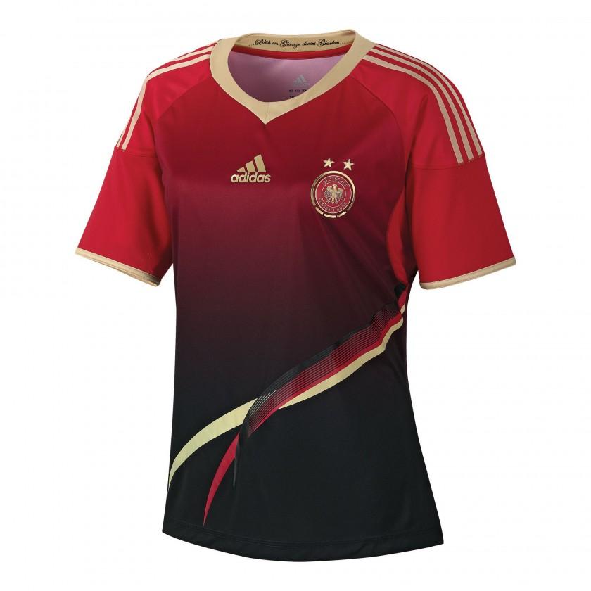 Auswrtstrikot der deutschen Frauen-Nationalmannschaft fr die Fuball-WM 2011