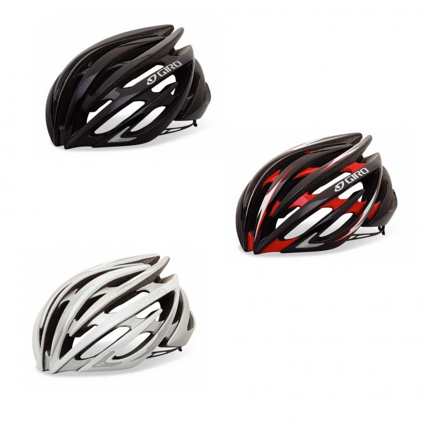 Fahrradhelm GIRO AEON - Black, Red, White