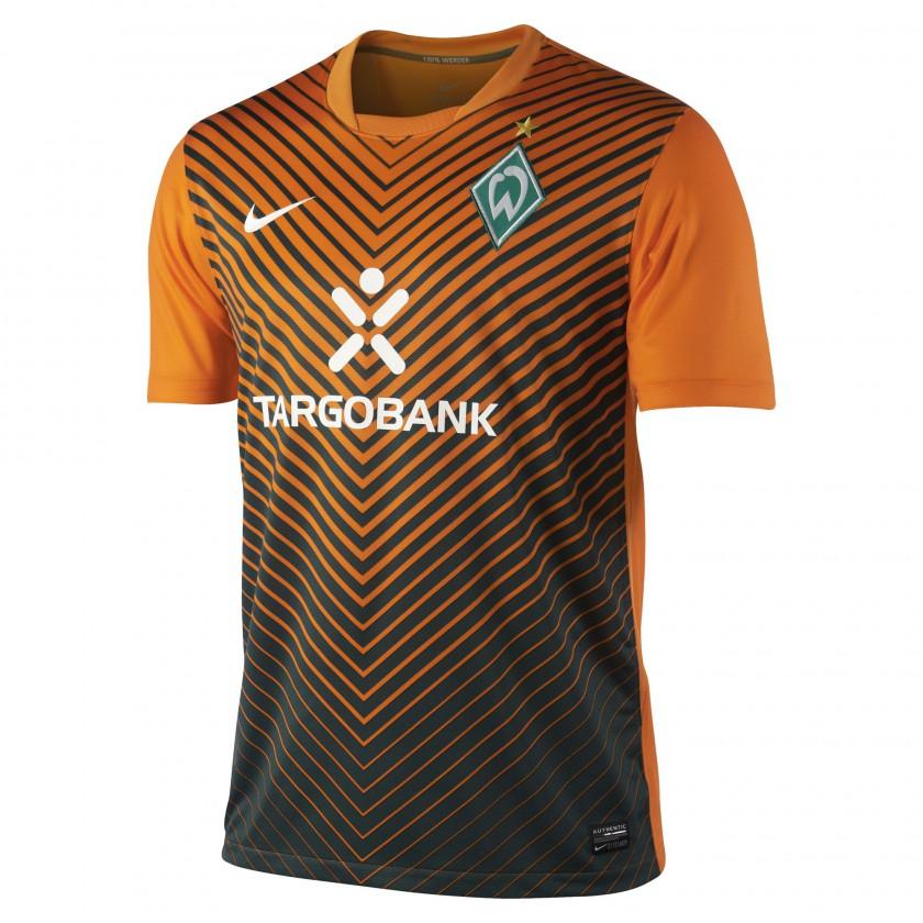 SV Werder Bremen Away Trikot front 2011/12