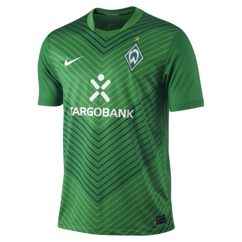 SV Werder Bremen Home Trikot front 2011/12