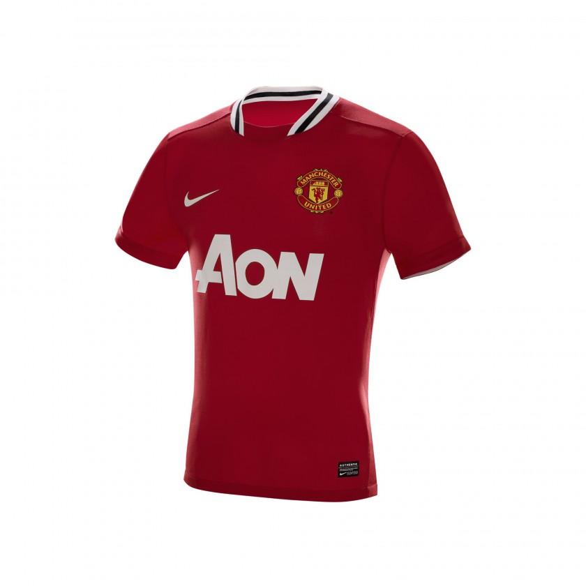 Manchester United Nike Heimtrikot der Saison 2011/12