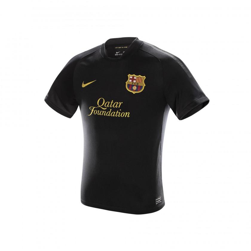 FC Barcelona Nike Auswärtstrikot der Saison 2011/12
