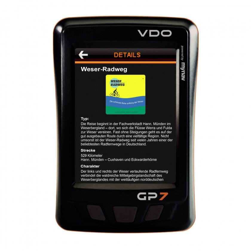 GP7 Touring GPS Navigationsgerät 2011