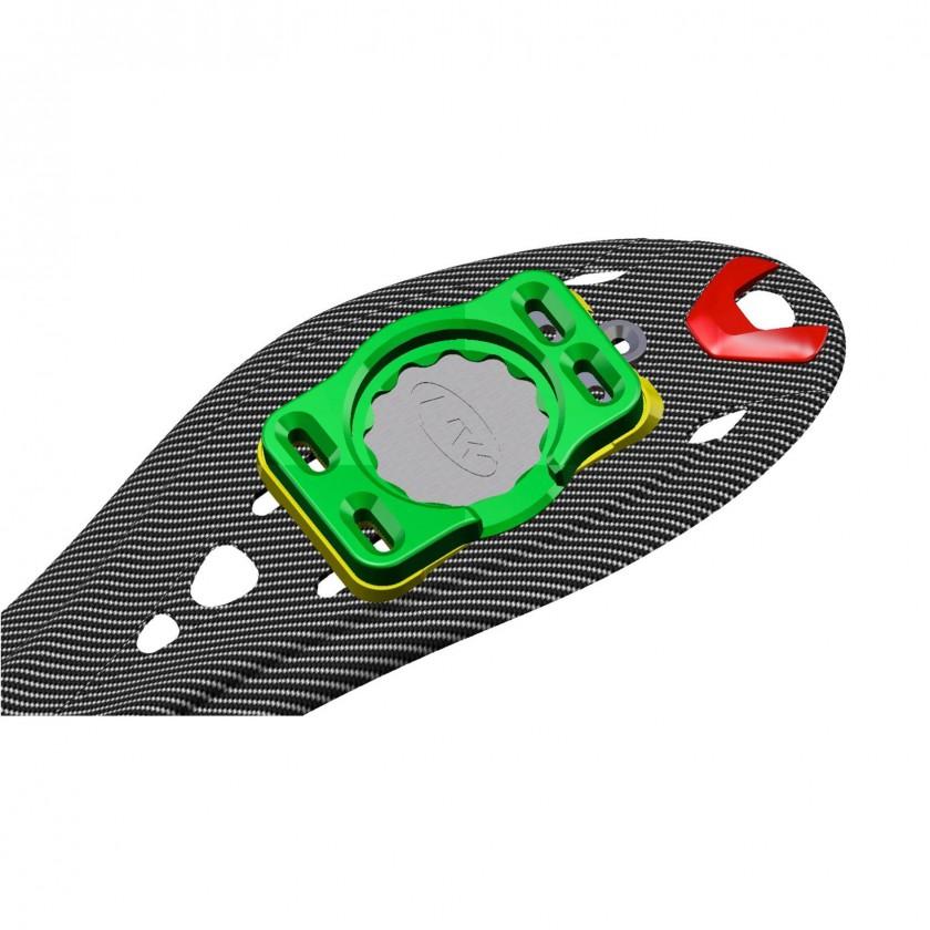 Ultralight Carbon Sohle mit Speedplay Adapter 2012