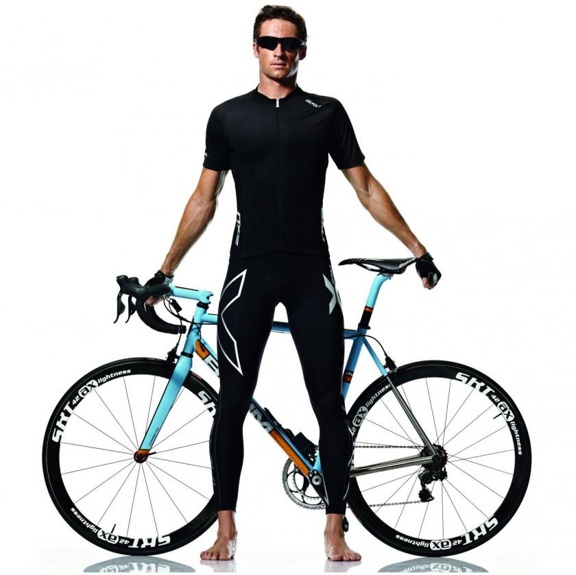 Compression Cycle Bib Tights Men 2012