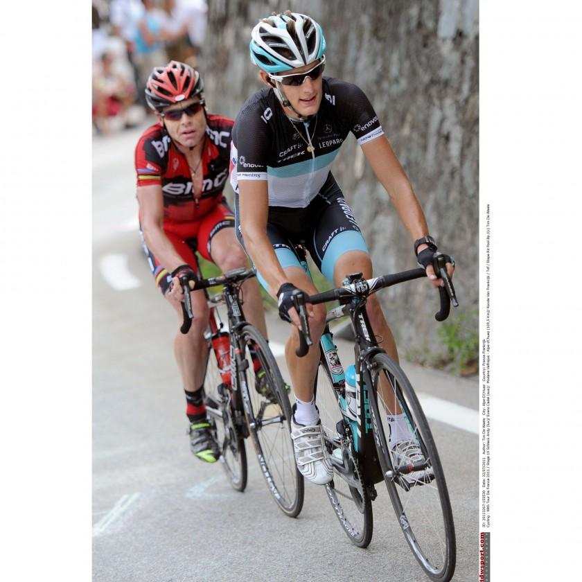 Tour de France 2011: Gesamtzweiter - Andy Schleck und Cadel Evans