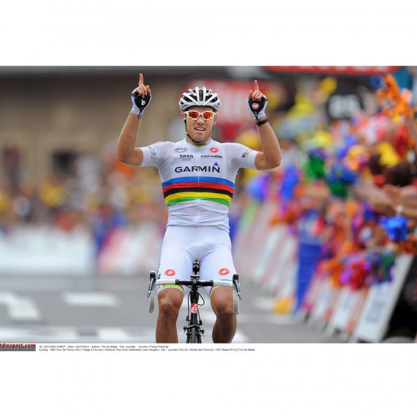 Tour de France 2011: Weltmeister 2010 - Thor Hushovd