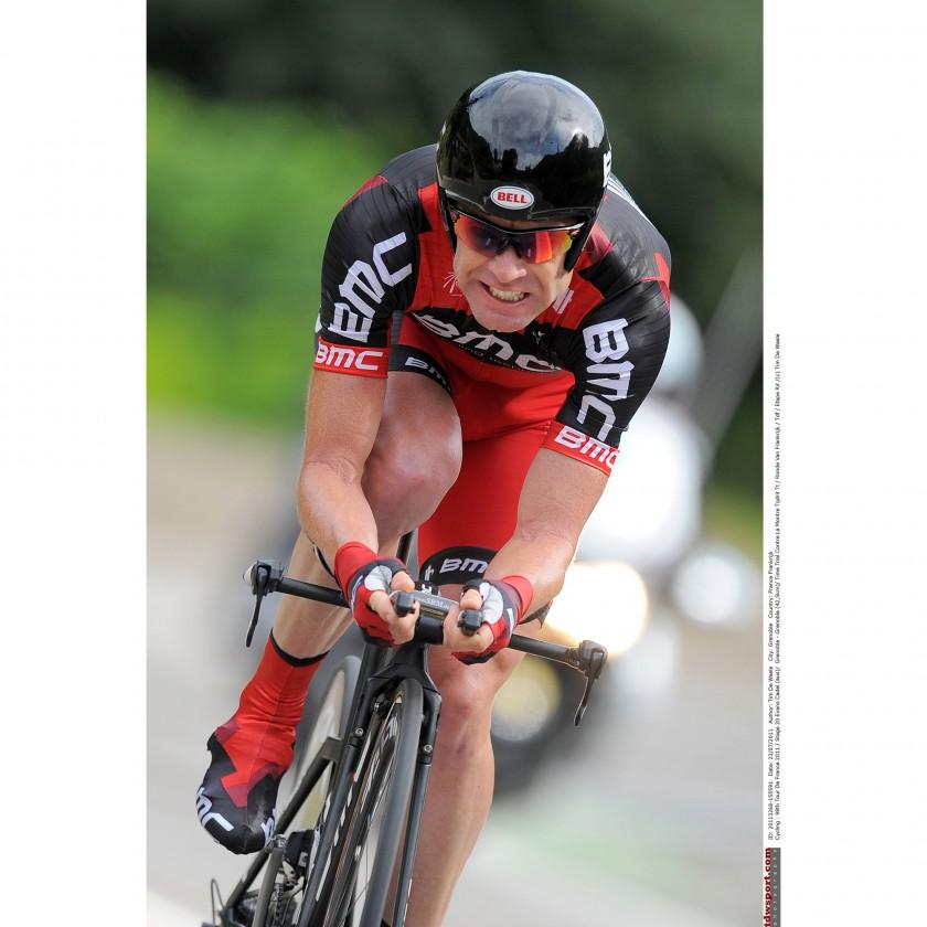Tour de France 2011: Gesamtsieger Cadel Evans beim Zeitfahren