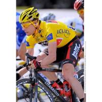 Tour de France 2011: Gesamtsieger Cadel Evans im Gelben Trikot