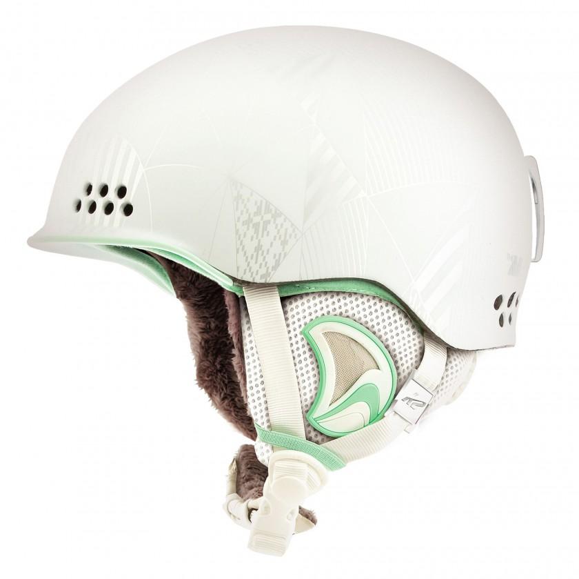 ALLY Pro Skihelm Damen white-metallic 2011/12