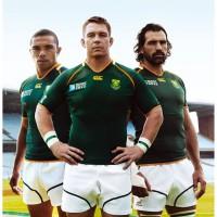 Sdafrikanische Rugby-Spieler in Canterbury of New Zealand Trikots 2011
