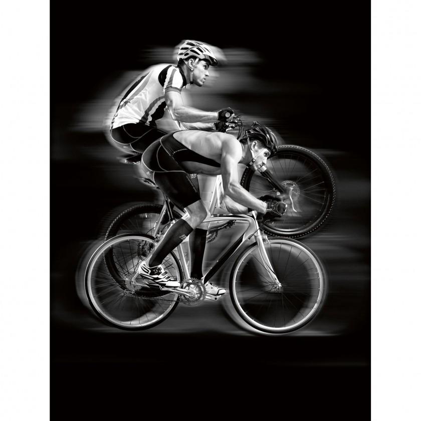 Mens bike compression bib shorts - MTB und Rennrad Action 2011