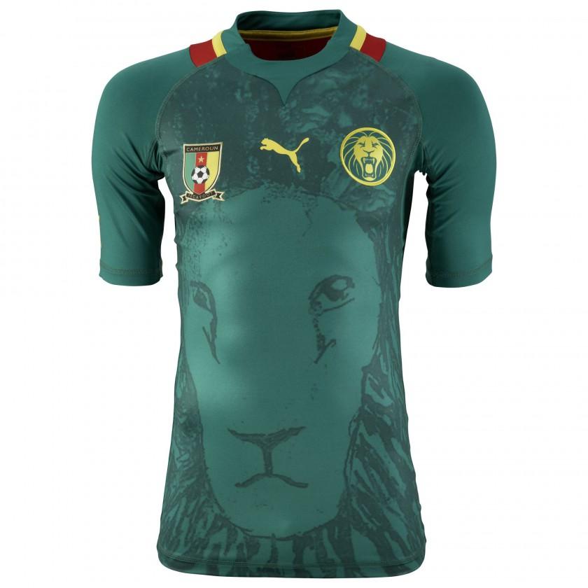 Bild Fussball Nationaltrikot Home Kamerun 2012