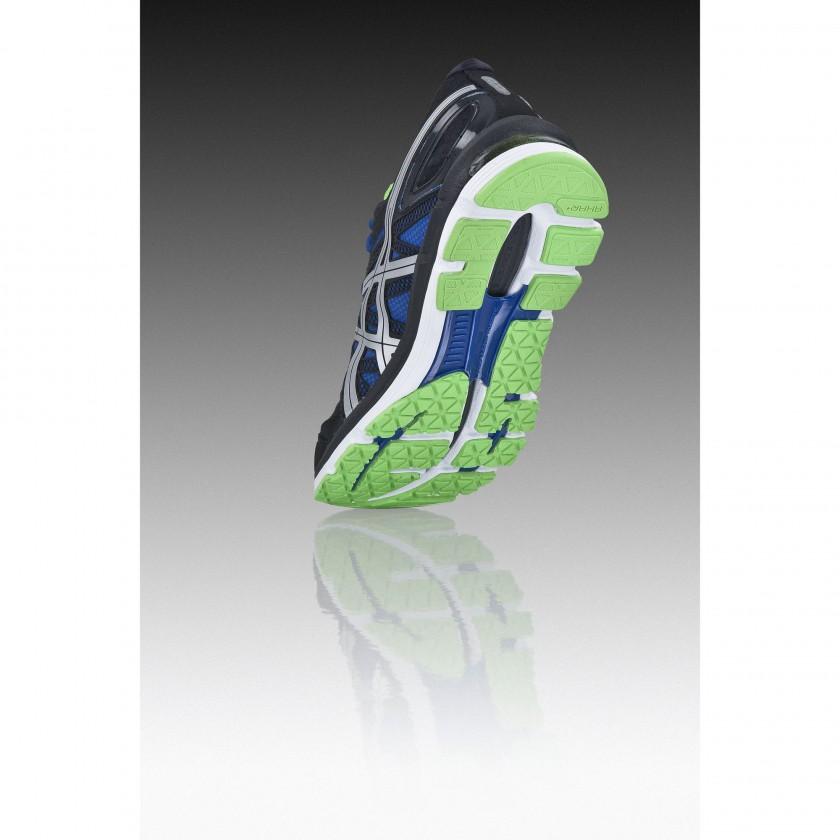 GEL-EXCEL33 Laufschuh Men black/blue sole 2011/12