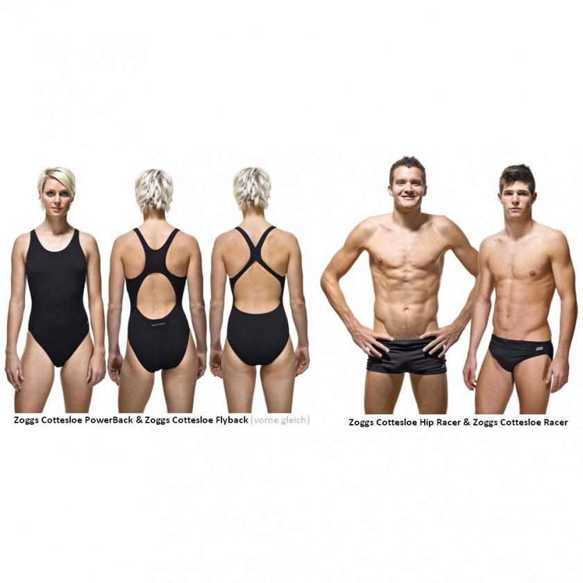 Irina Kirchler, Jan Frodeno und Alois Knabl prsentieren die Zoggs CR25 Schwimmkollektion 2011