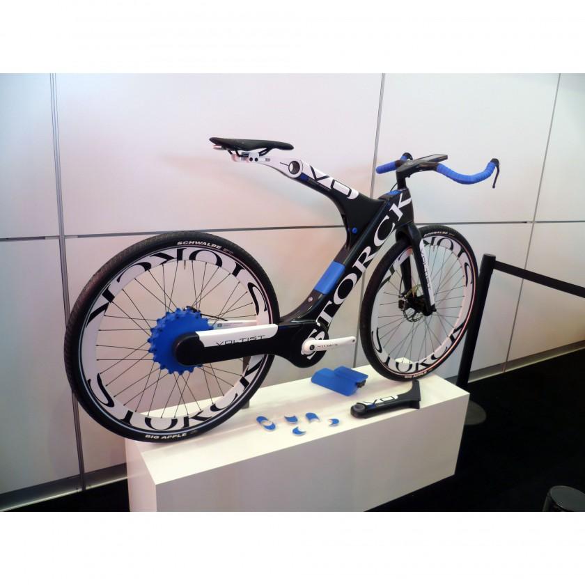 Eurobike 2011: TU Chemnitz und Storck präsentierten den Prototypen des Carbon-E-Bikes Voltist 2011