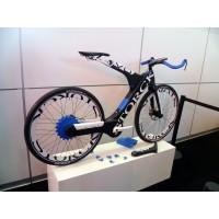 Eurobike 2011: TU Chemnitz und Storck prsentierten den Prototypen des Carbon-E-Bikes Voltist 2011