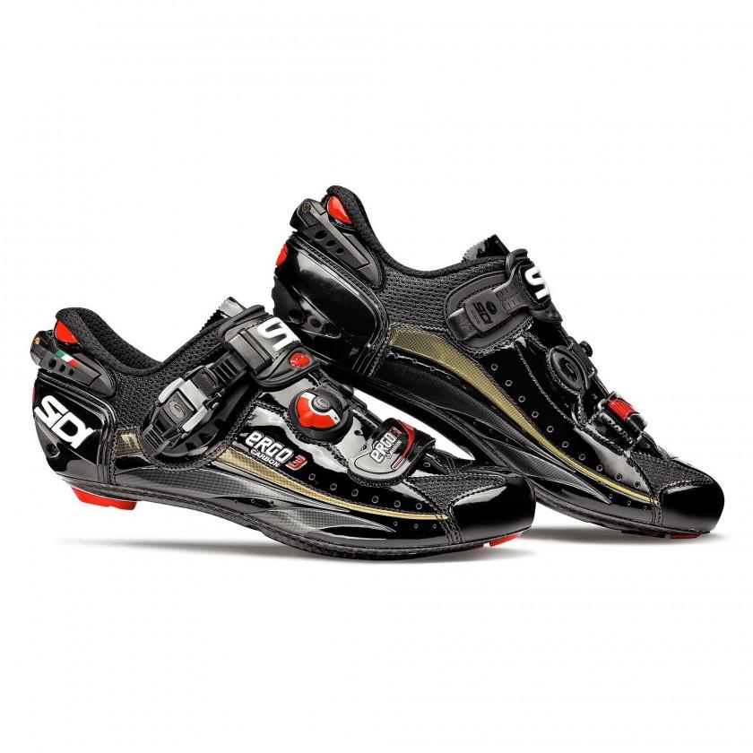 Ergo 3 Carbon Vernice Rennradschuh black 2012