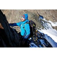 Bergsteiger Florian Hill in adidas Ausrstung am Berg