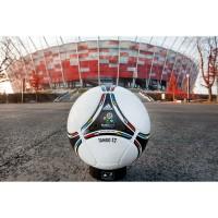 Tango 12 - adidas Spielball der Europmeisterschaft 2012 vor dem polnischem Nationalstadion
