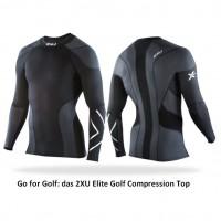 Go for Golf: das 2XU Elite Golf Compression Top 2012