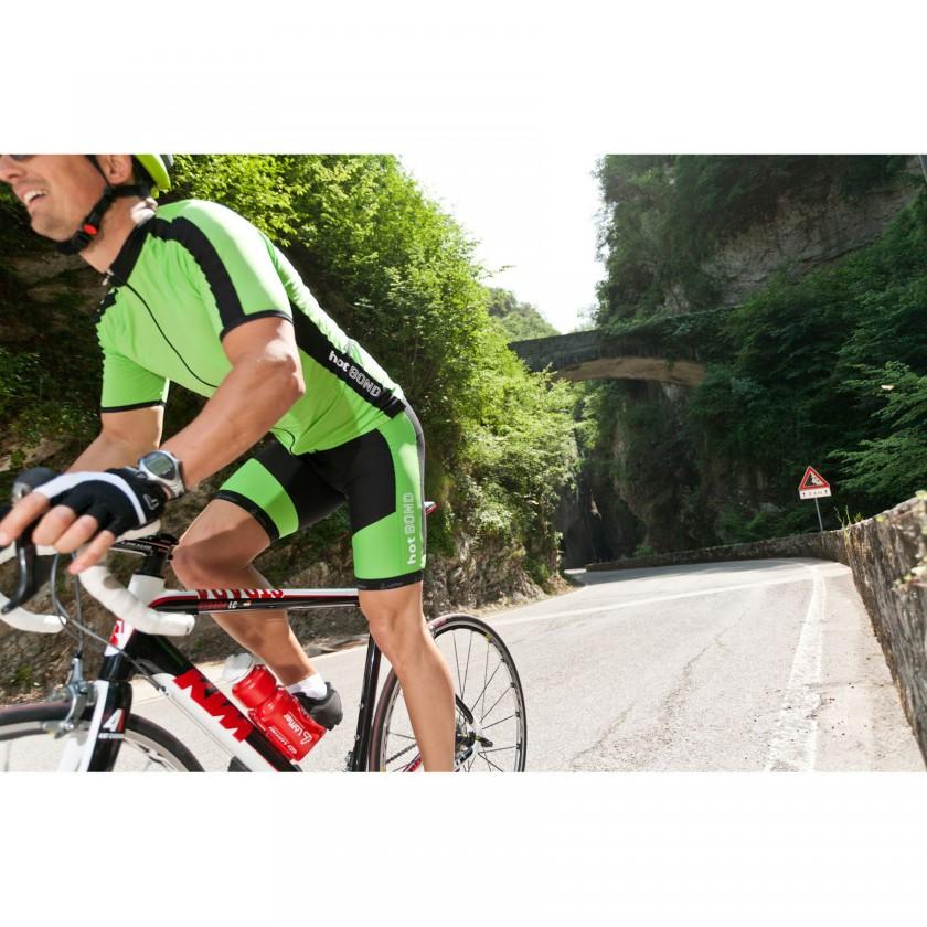 Bike-Action in HOT BOND Bike-Trikot und Hose 2012