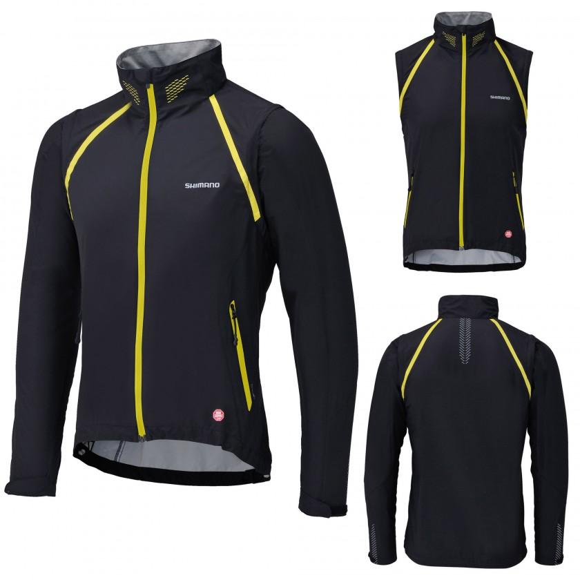 Zip-Off WINDSTOPPER Jacke Men black/yellow 2012