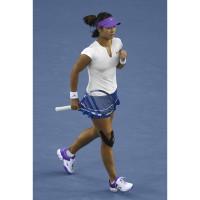 Li Na im Nike Pure Tennis Top A und Rally Knit Skirt bei den Australian Open 2012