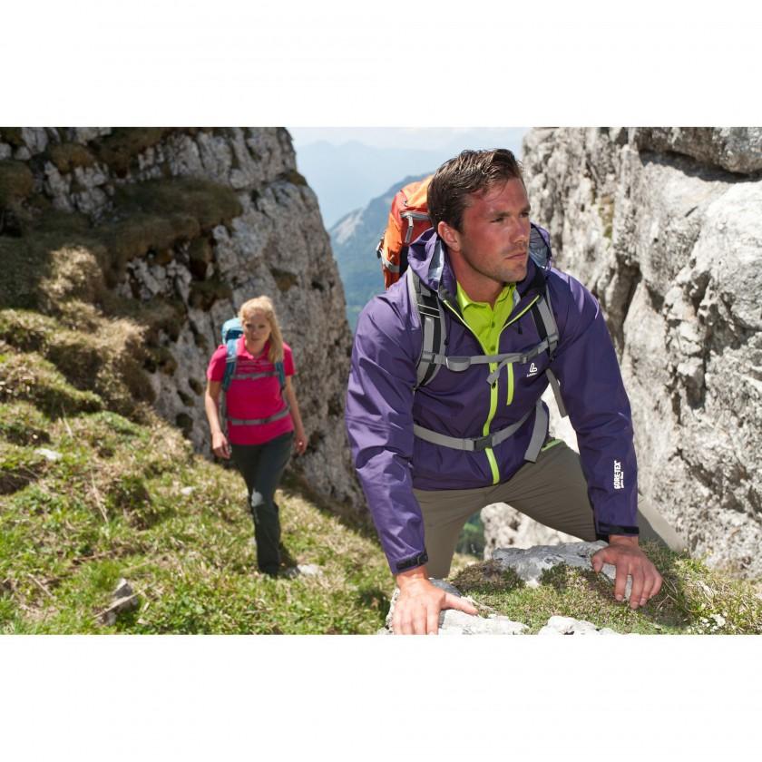 Trekking Action in Löffler Tencel Polo Shirts 2012