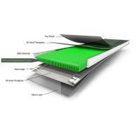 Ultimate Core Grafik - durchgehender Lage Koroyd-Material 2012
