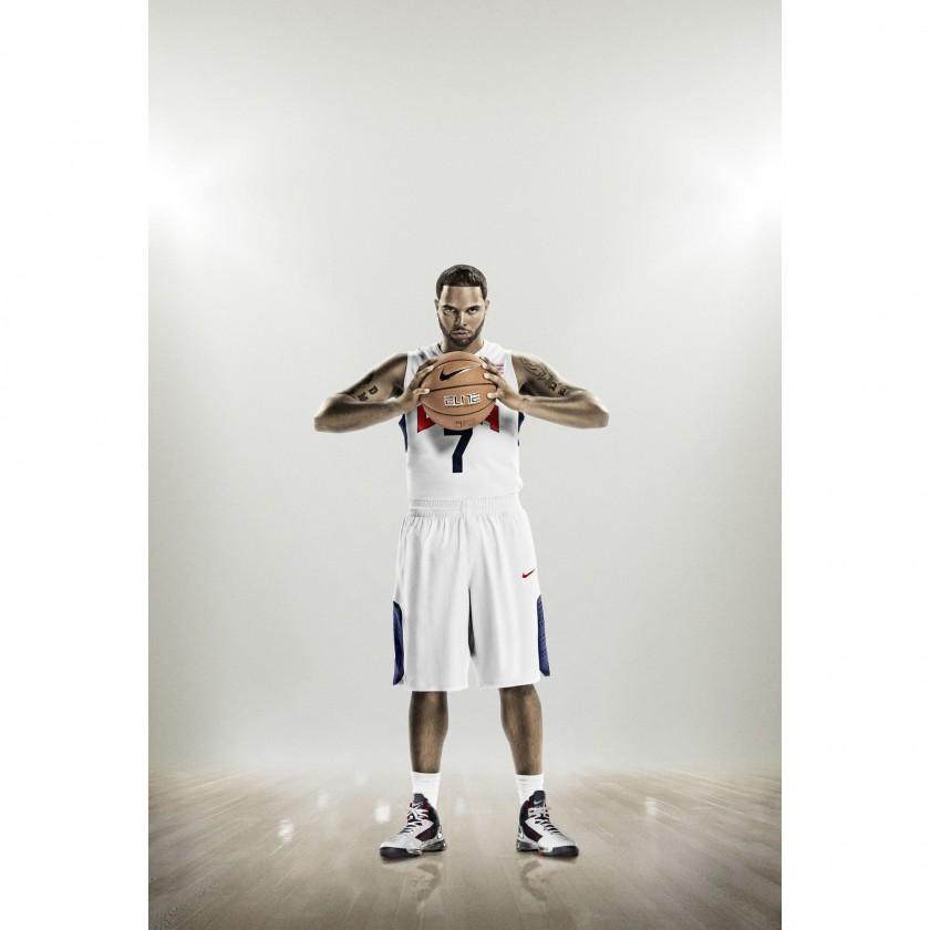 Deron Williams in der Nike Hyper Elite Basketball Uniform Team USA 2012