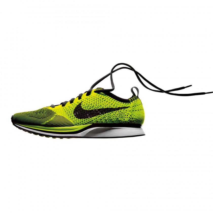 Nike Flyknit side yellow/black 2012