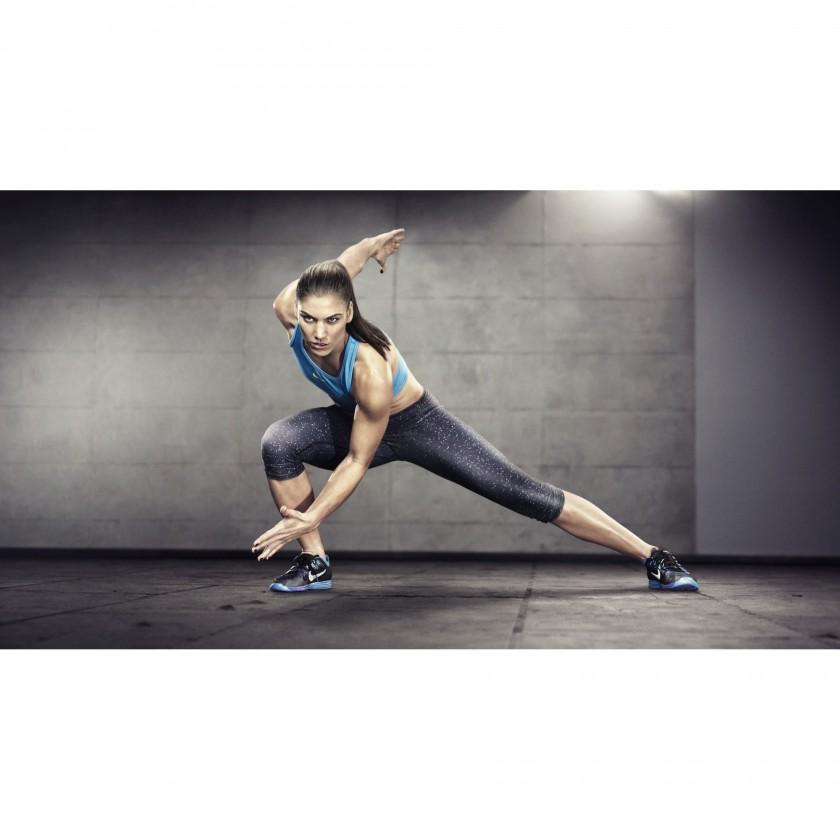 Hope Solo beim Training im neuen Lunar Hyper Workout+ mit Nike+ Technologie 2012