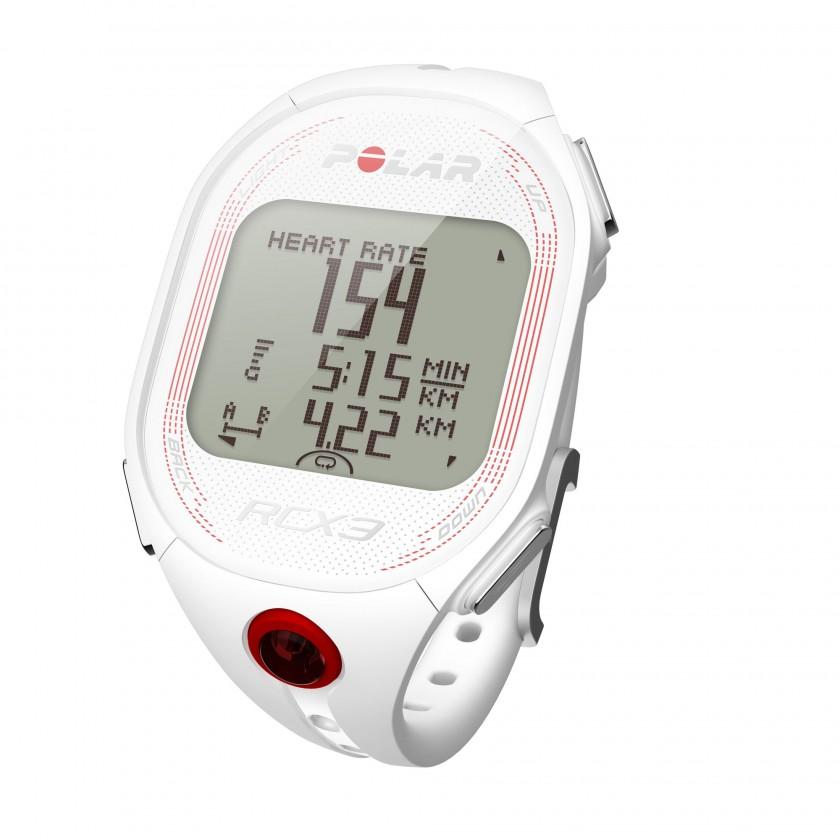 Trainingscomputer RCX3 GPS white topleft 2012