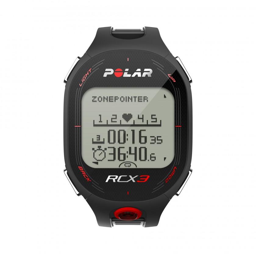 Trainingscomputer RCX3 GPS black top 2012